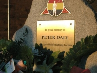 Building the Peter Daly Memorial