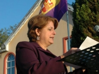 The Cuban Ambassador Teresita Trujillos