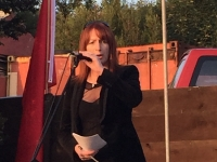 Clare Daly TD speaking at the 2015 Commemoration