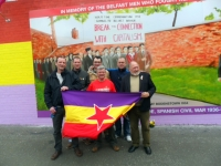International Brigades Mural Unveiling in Belfast