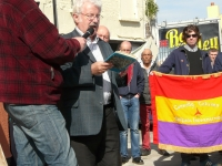 International Brigades plaque unveiling in Inchicore, Dublin on Saturday 4th May 2013