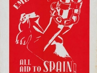 Spain Fights On Poster