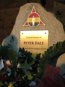 Peter Daly Commemoration